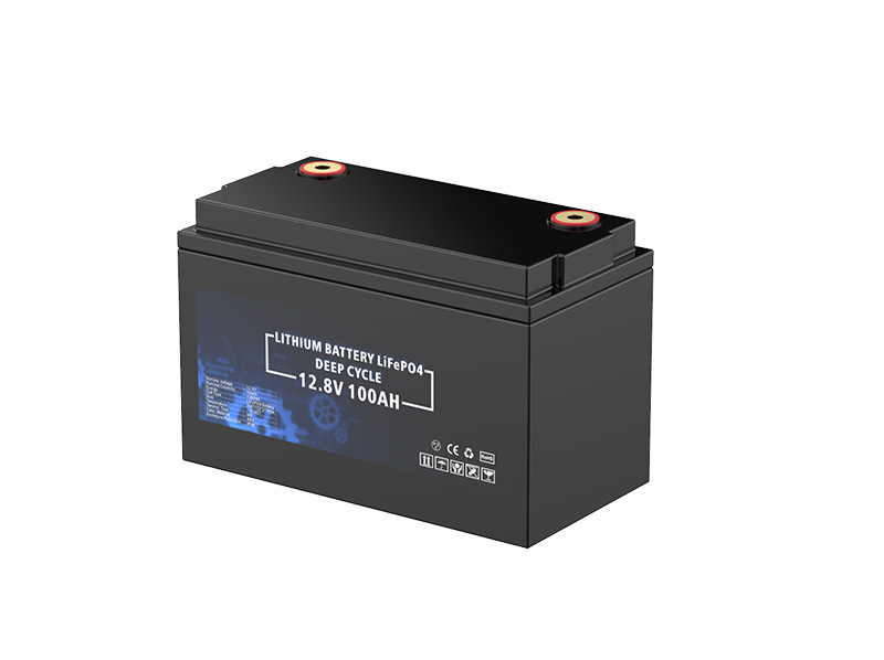 12.8V 100Ah 1280Wh Deep cycle battery pack