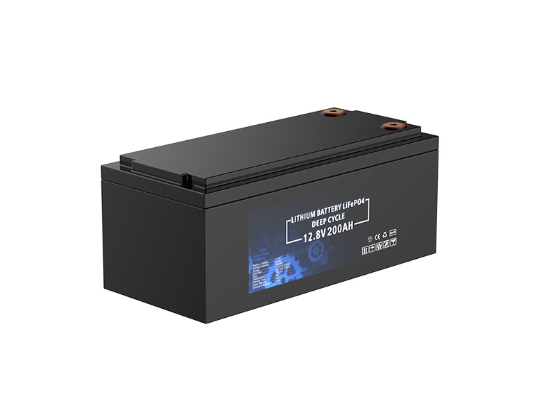 12.8V 200Ah 2560Wh Deep cycle battery pack