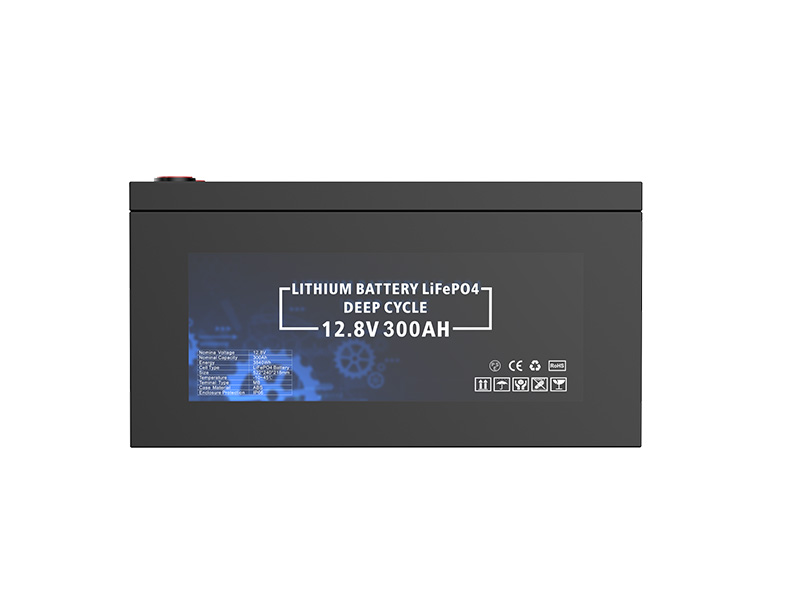 12.8V 300Ah 3840Wh Deep cycle battery pack