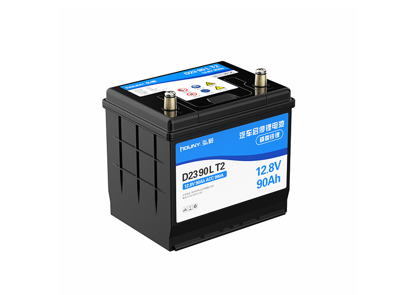 Jump Starter Compatible Replacement LiPePO4 Battery D23