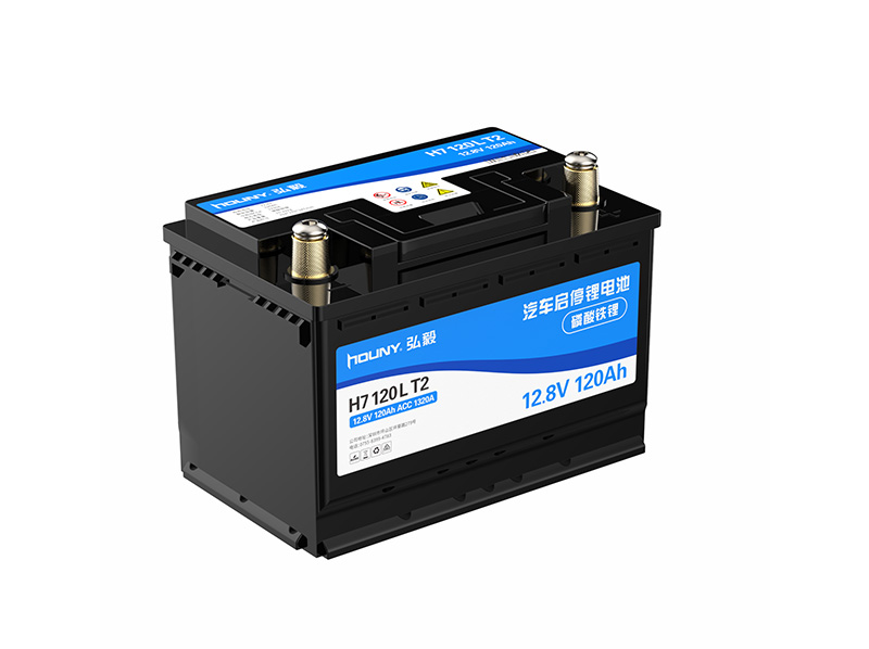 Jump Starter Compatible Replacement LiPePO4 Battery H7120